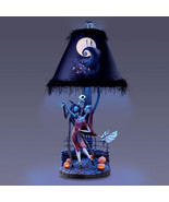 NIghtMare BEFORE Christmas HandCrafted Halloween Town Table Lamp with Sh... - $252.45