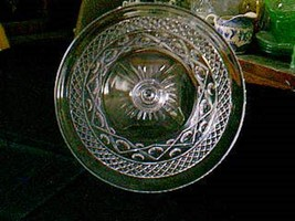 """Imperial Crystal Cape Cod 10"""" Dinner Plate - $24.75"""