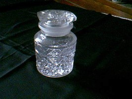 Imperial Crystal Cape Cod Horseradish Jar & Ground Stopper 160/226 - $59.40