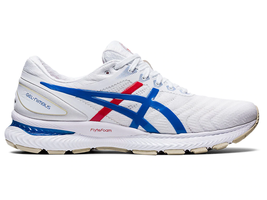 Asics Women's Nimbus 22 Retro Tokyo Shoes NEW AUTHENTIC White/Blue 1012A... - $149.99