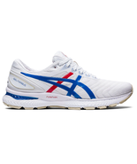 Asics Women's Nimbus 22 Retro Tokyo Shoes NEW AUTHENTIC White/Blue 1012A... - $139.99
