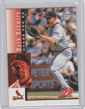 1998 Upper Deck Chase for 62 Box Set Base #26 Mark McGwire - $1.00