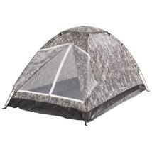 New Portable Camo Two Person Digital Camo Camping Biking Light Travel Tent - $39.99