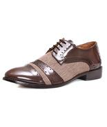 LibertyZeno Handmade Leather Men's Classic Captoe Laceup Dress Shoes L-1008 - $53.99