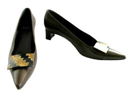 Stuart Weitzman Brown Leather Pointed Toe Shoes size 7 1/2 M - $55.00