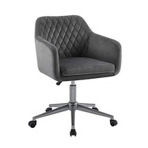 Linon Grey Quilted Brooklyn Office Chair - $344.97