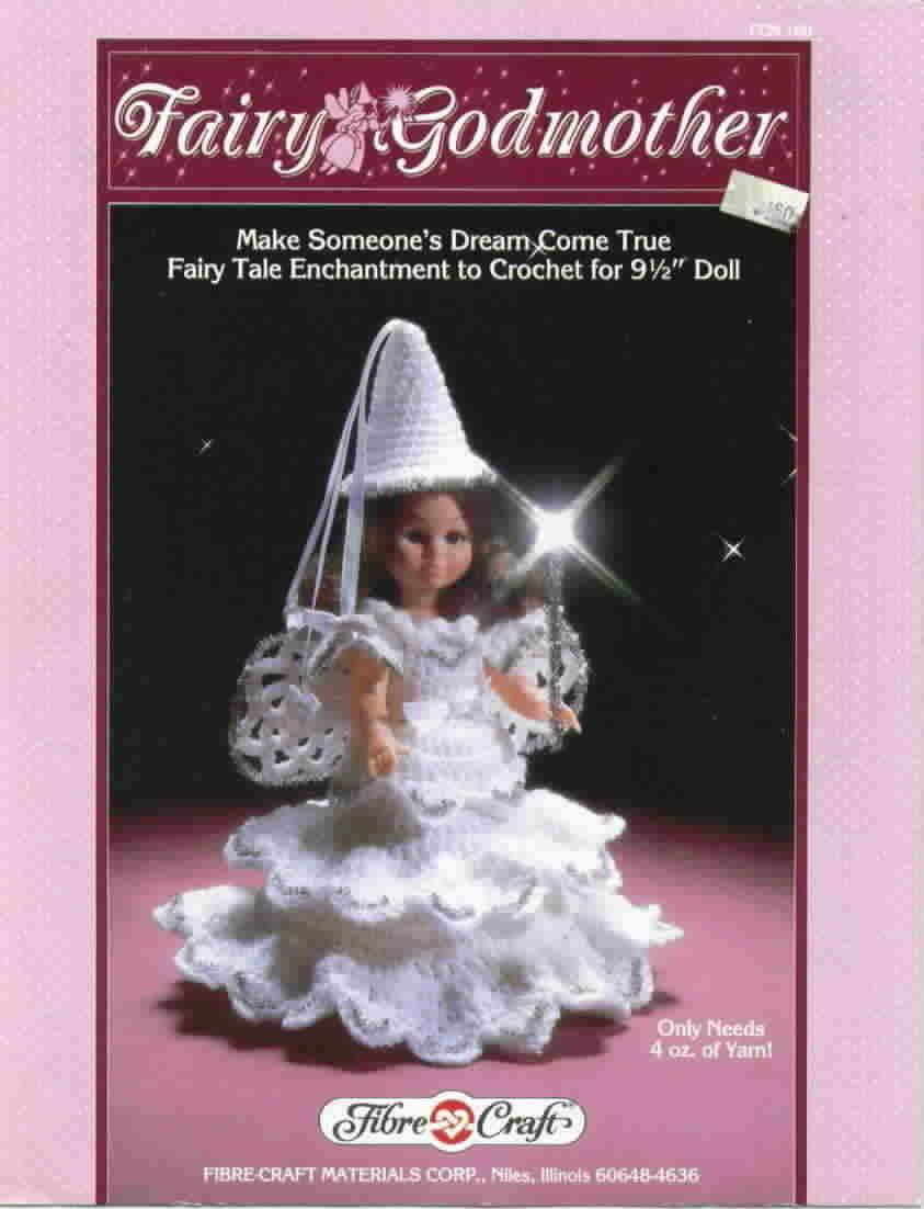Fibre Craft Fairy Godmother Fairy Tale Enchantment to Crochet Bonanza
