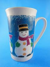 """Studio Nova #MZ869 Christmas Snowman Mug 4 3/4"""" tall NICE - $6.23"""