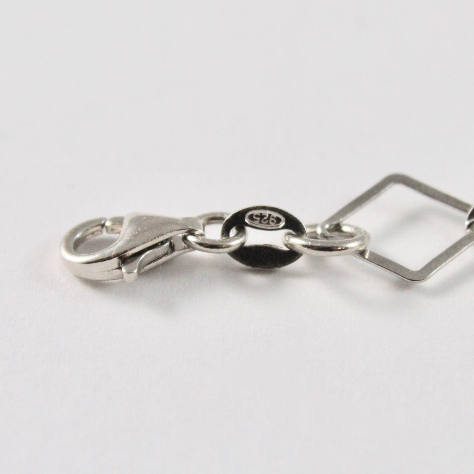 Bracelet en Argent 925 avec Aigue Marine Ronde de Diamètre 10 MM