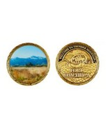 """ARMY WELCOME TO THUNDER MOUNTAIN  FORT HUACHUCA 1.75""""  CHALLENGE COIN - €14,50 EUR"""
