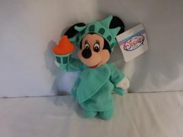 Disney Statue of Liberty Minnie Mouse Mini Bean Bag Plush - NWT Store Tags - $11.02