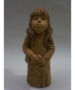 "LEE BORTIN ORIGINALS Sad Eye Girl 9"" Figurine ... - $69.99"
