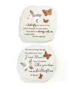 Cut-Out Stepping Stone/Wall Plaque, Set of 2 - $72.99