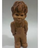 LEE BORTIN ORIGINALS Little Boy w/ Hands in Ove... - $49.99