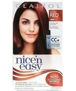 Clairol Nice 'n Easy Permanent Dye Born Red 4BG/113 Natural Dark Burgundy - $11.87