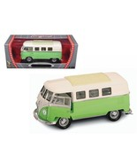 1962 Volkswagen Microbus Light Green 1/18 Diecast Car Model by Road Sign... - $62.67