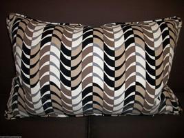 Arnet Raised Velvet Designer Lumbar Pillow - $145.00