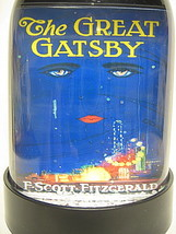 THE GREAT GATSBY SNOW GLOBE F. SCOTT FITZGERALD... - $24.99