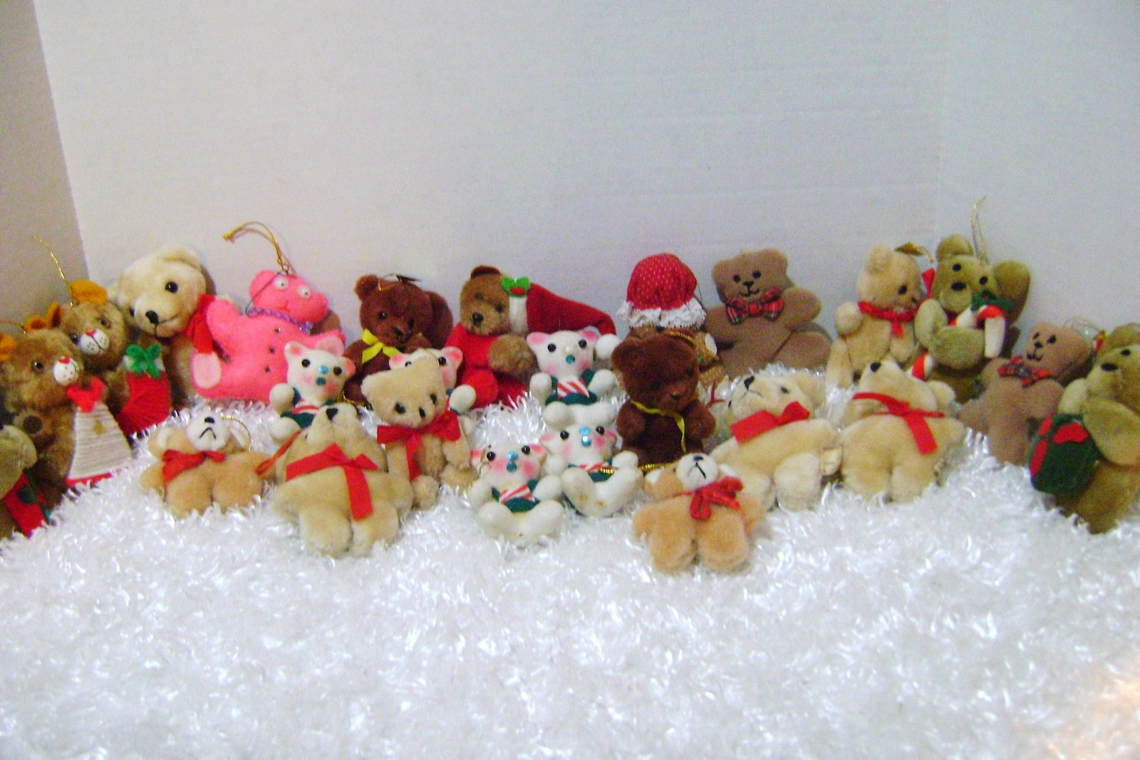 Teddy Bear Christmas Ornaments