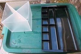 ~ Lot Of 2 Desk Organizers ~ Deflecto Cube, & S... - $6.00