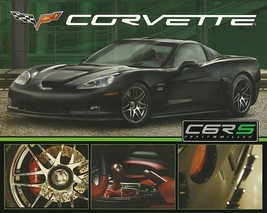 2009 Chevrolet CORVETTE C6RS sales brochure sheet Chevy Pratt Miller Jay... - $8.00