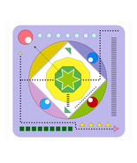 *Geometric Drawing V* Digital Art JPEG Image Download  - $3.00