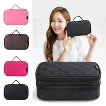 Bag Cosmetic Makeup Travel Organizer Professional Makeup Storage Beautic... - $356,87 MXN