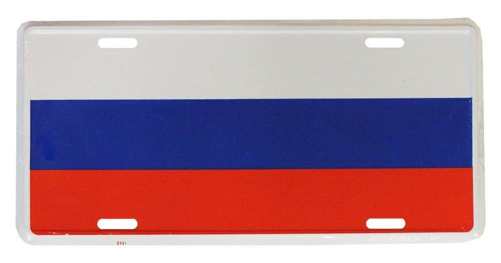 Russia License Plate