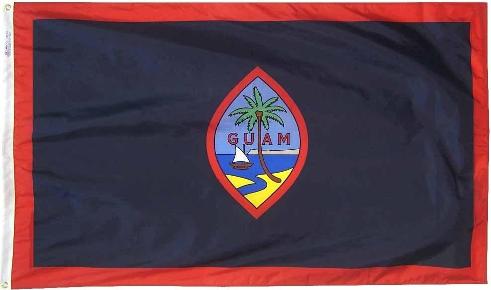 Guam flag 3x5nylon