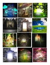 15 Fantasy 2-Digital Clipart  - $6.00