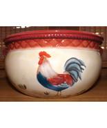 Certified International Pamela Gladding Tuscan Rooster Pattern Spagetti/... - $34.49