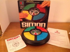 Simon Game 1978 Milton Bradley Vintage Original Box Model 4850 - $58.04