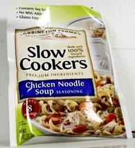 3 Orrington Farms® Gourmet Slow Cooker Mixes-Chicken Noodle Soup Seasoni... - $9.99