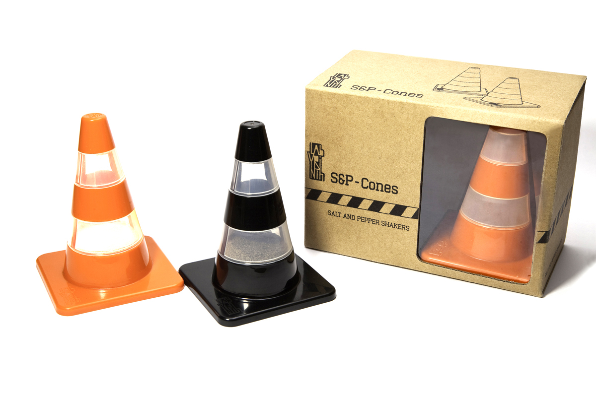 Primary image for Salt & Pepper Funky Shakers SOHO Gifts Design Road Traffic Cone Tableware Decor