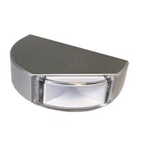 Lumitec Surface Mount Navigation Light - Classic Aluminum - Port Red - $134.72