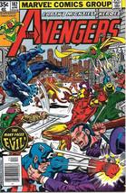 The Avengers Comic Book #182, Marvel Comics Group 1979 NEAR MINT - $13.54