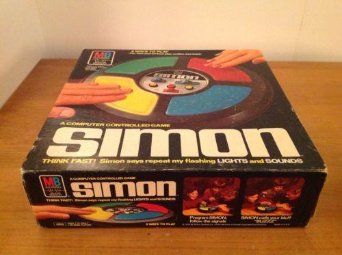 Simon Game 1978 Milton Bradley Vintage Original Box Model 4850