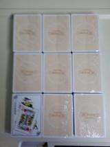 Longaberger 9 DECKS Playing Cards Collectors Club Standard Deck Stocking... - $20.74