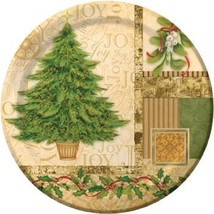 "24 pcs Creative Converting Sturdy  Paper Luncheon Plates, 10"", tree collage - $19.01"