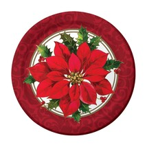 "24 pcs Creative Converting Sturdy Style Paper desert Plates, 7"", Christmastime - $5.93"