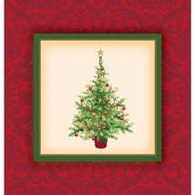 32 pcs Christmas holiday spruce 2-Ply Party Beverage Napkins - $4.94