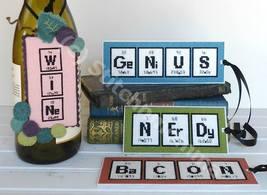 Nerdy Words cross stitch chart Stitchnmoma - $11.00