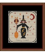 Haley Comet PT3 Coven of Year Halloween SAL cross stitch chart Stitchers... - $7.00