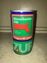 7 UP UNCLE SAM CAN 1976, MASSACHUSETTS - COMPLETE YOUR COLLECTION!! - $7.99