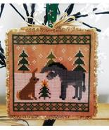 Little Donkey Holmsey Hare Douglas cross stitch chart Stitchers Anon Des... - $6.00