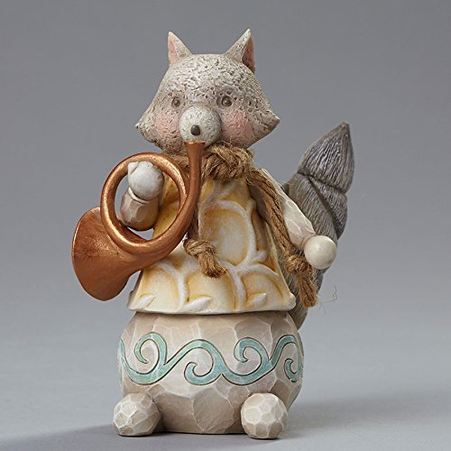 River's End Woodland Fox with Horn, Figurine [Kitchen]