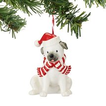 Department 56 Fetch The Spirit Pug Ornament [Misc.]
