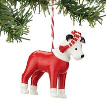 Department 56 Fetch The Spirit Bull Terrier Ornament [Misc.]