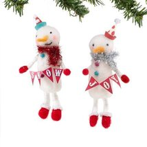 Department56 Big Top Christmas Snowman Ornament, 2a [Kitchen]