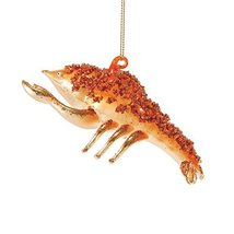 Department 56 Gone to The Beach Glass Lobster Ornament [Misc.]